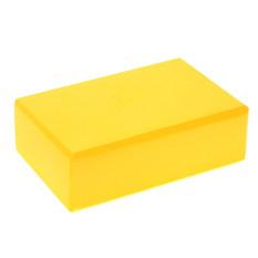 FLY 2 Pcs Yoga Blok Bata Busa Foam Practice Kebugaran Sport Alat (Kuning)-Intl