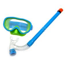 FLY Anak Renang Kacamata Semi Kering Snorkeling Peralatan Sky Blue-Intl