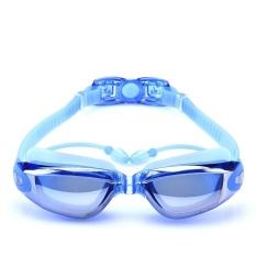 FLY Pria dan Womens Myopia Berenang Kacamata (Biru)-Intl
