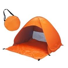 Harga Lipat Bebas Untuk Membangun Otomatis Cepat Speed Open Outdoor Camping Beach Tenda Dengan Carrying Bag Untuk 2 Dewasa Atau 3 Anak Anak Menggunakan Ukuran 1 65X1 5X1 1 M Oranye Intl Terbaru