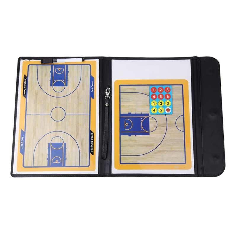 Harga preferensial Lipat Penanda Taktik Coaching Board Basket Sport Papan Strategi Pelatih-Intl beli sekarang