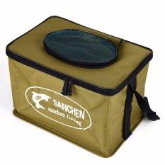 Harga Folding Live Fish Box Plastik Carp Ember Batang Tangki Air Air Tas Kotak Container Bucket Fishing Tackle Accessories Ukuran Kecil Intl New