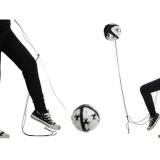 Spesifikasi Football Kick Trainer Keterampilan Kontrol Solo Peralatan Pelatihan Sepak Bola Adjustable Intl Yang Bagus