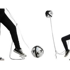 Spesifikasi Football Kick Trainer Keterampilan Kontrol Solo Peralatan Pelatihan Sepak Bola Adjustable Intl Murah Berkualitas