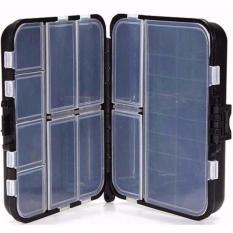 Four-U Box Kotak Perkakas Kail Pancing Waterproof Case - Q041 - Black