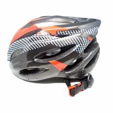 Four- U Helm Sepeda EPS Foam PVC Shell - x10 - Black