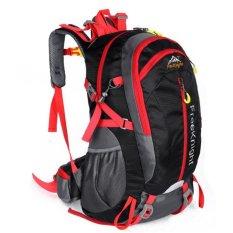 Spesifikasi Free Knight 40 Liter Bahan Polyester Waterproof Ultra Berkemah Climbed Mt Rekreasi Perjalanan Tas Ransel Hitam