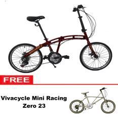 Free Ongkir Paket Hemat Sepeda Lipat Viva Cycle 20
