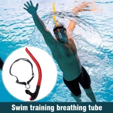 Toko Depan Renang Breathing Tube Peralatan Snorkel Underwater Diving Snorkeling Aksesoris Merah Online Tiongkok