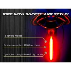 FS 26 LED Sepeda Ringan Isi Ulang Sepeda Ekor Ringan Tinggi Intensity Belakang Aksesoris LED Cocok untuk Sepeda Jalan, lampu Merah