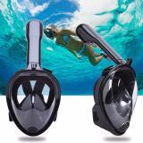 Jual Full Face Snorkel Mask Snorkeling Snorkle Ukuran S M Satu Set