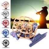 Spesifikasi Full Full Ultra Light Mantan Ice Fishing Reels Wheel Fly Fishing Reel Aluminium Hitam Intl Yg Baik