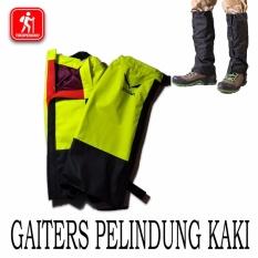 Jual Gaiter Pelindung Kaki Sepatu Pendaki Waterproof Salewa Gaiters Bagus Salewa