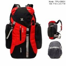 Gearbag Tas Gunung Hiking Camping Advanture Ransel Backpack Carrier 42L Waterproof