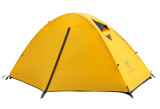 Promo Geertop 1 Person 20D Lightweight Waterproof Dome Tent For Camping Backpacking Hiking Travel 3 Seasons Easy Set Up Yellow Geertop Terbaru