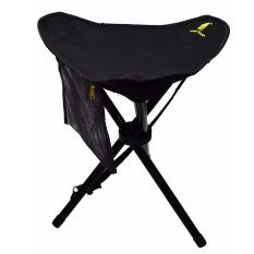Geertop Besar Folding Tripod Stool Slacker Chair Dengan Mesh Pocket Untuk Memancing Berkemah Hiking Intl Asli