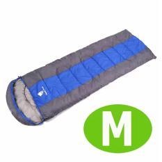 Ulasan Mengenai Geertop® Sleeping Bag Comfort Ringan Portable Attachable Untuk Camping Hiking Backpacking 5 18 ℃ M Biru