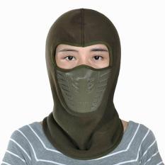 Spesifikasi Unisex Kolam Olahraga Balaclava Masker Motor Bersepeda Windproof Wajah Topeng Penuh Tentara Hijau Intl Gemvie Bagus