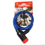 Harga Genio Bike Lock Kunci Spiral Gembok Sepeda 130Cm Biru New