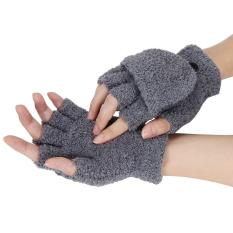 Gadis Wanita Wanita Tangan Pergelangan Tangan Hangat Musim Dingin Sarung Tangan Sarung Tangan PK-Internasional