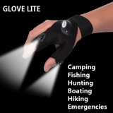 Beli Glovelite Luminous Glovesled Light Fishing Gloves Outdoor Camping Hiking Fishing Rescue Tool Glove Style Right Intl Cicilan