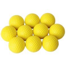 Harga Golf Bola Busa Lembut Set 10 Kuning Intl Bolehdeals Original
