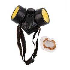 Diskon Besarkeselamatan Baik Keselamatan Darurat Pernapasan Masker Gas With 2 Perlindungan Ganda Filter Hitam And Kuning