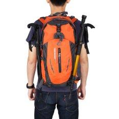 Harga Percuma Ksatria 005 Lintas Alam Berkemah Ransel Sports Luar Room Tahan Air Tas Nilon 40 Liter Oranye Fullset Murah