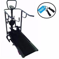 Gratis Ongkir Jabodetabek Sports Treadmill Manual 5 Fungsi Black Diskon Jawa Barat
