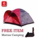 Jual Beli Great Oudoor Tenda Camping 4 Orang Gt1404 Waterproof Frame Pasak Kokoh Baru Indonesia