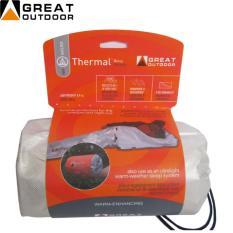 Harga Great Outdoor Sleeping Bag Alumunium Thermal Bivvy Great Outdoor Baru