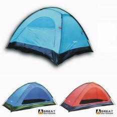Spesifikasi Great Outdoor Tenda 2 Orang Monodome Kokoh Camping Di Gunung Pantai Dan Harga