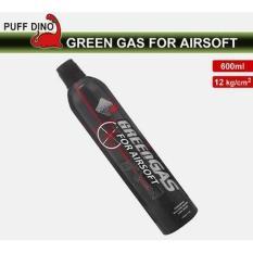 Green Gas 600ml~12KG Gas (Propane Gas, Airsoft Gas, Gun Gas, GBB Gas) khusus untuk wilayah pulau jawa