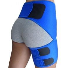 Groin Support-Leg Brace untuk Sciatica Pain Relief, Paha, Hamstring, Paha DEPAN, Hip Nyeri Sendi, SI Cedera Sendi. Kompresi Wrap untuk Ditarik Pangkal Paha, Sciatica Brace/SI Belt untuk Pria, Wanita-Intl