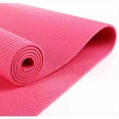Toko Grosir Station Matras Yoga Yoga Mat Pilates Mat Hot Pink Di Banten