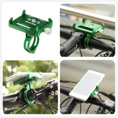 Kualitas Gub G 85 Metal Bike Bicycle Holder Motor Handle Telepon Mount Handlebar Extender Phone Holder Untuk Ponsel Iphone Gps Dll Hijau Intl Gub