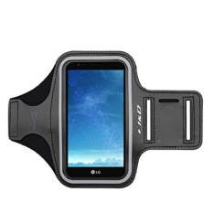 GX Lg K10 2017 Armband, J&Amp;D Spor Armband For Lg K10 (Release In 2017), Lg K20 V, Lg K20 Plus, Lg V5, Lg Grace L59bl, Key Holder Slot, Perfect Earphone Connection While Workout Running - Black