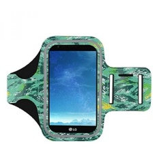GX Lg K10 2017 Armband, J&Amp;D Spor Armband For Lg K10 (Release In 2017), Lg K20 V, Lg K20 Plus, Lg V5, Lg Grace L59bl, Key Holder Slot, Perfect Earphone Connection While Workout Running - Camouflage - intl