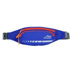 GX Running Waist Belt Bags For Men Women Outdoor Cross Shoulderpocket(Blue)-One Size