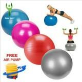 Jual Bola Gym Fitnes Yoga Hamil Alat Olahraga Fitness Ball Gym Ball Bola Fitness 65Cm Gratis Pompa Olahraga Senam Yoga Exercise Art Branded Murah