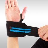 Beli Gym Gelang Sport Wrist Brace Support Black Blue Baru