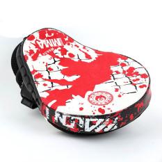 Harga Tangan Sasaran Mma Sarung Tangan Tinju Pelatihan Punch Pad Mitt Merah Putih 26 Intl Termurah