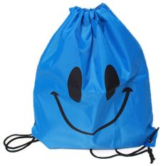 Hang Qiao Drawstring Swimming Bag Biru Tiongkok Diskon