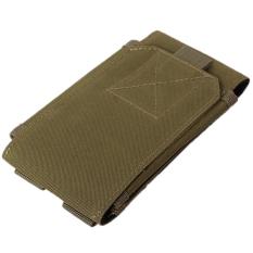 Hang Qiao Mini Mobile Paket Pinggang Hanging Pouch Hijau Tentara Tiongkok