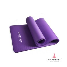 Harga Happyfit Matras Nbr 10Mm Exercise Mat Purple Include Strap Satu Set