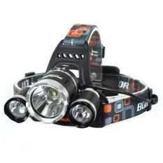 Headlamp Cree XM-L T6 5000 Lumens Lampu Senter Kepala Laut camping Berburu Mancing Super Terang 18650