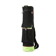 Beli Heathyoga Yoga Bag 28 L X 8 D Multi Functional Storage Pockets 100 Cotton Canvas With Shrink Proof Design Black Intl Lengkap