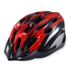 Helm Sepeda Bahan PVC Dan Busa EPS Outdoor Bicycle Helmet Pelindung Kepala
