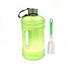 Jual Berkapasitas Tinggi New Wave Enviro Eastar Resin Olahraga Botol Air 2 2 Liter Green Intl Branded