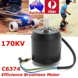 Spesifikasi High Efficience Brushless Motor 170Kv C6374 For Electric Skateboard Longboard Intl Yg Baik